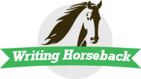 Writing Horseback Logo