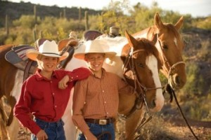 Cowboys on a Horseback Riding Vacation
