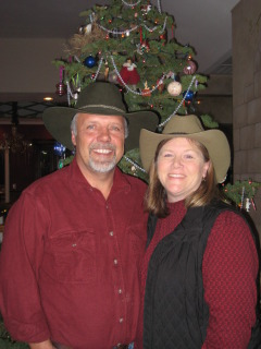 Happy Holidays from Cory and Nancy D. Brown