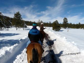 A Winter Horseback Riding Vacation at Hidden Meadow Ranch