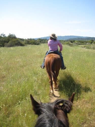 Owner Melissa White takes us on a Horseback Riding Vacation with Western Trail Rides in Ojai, California
