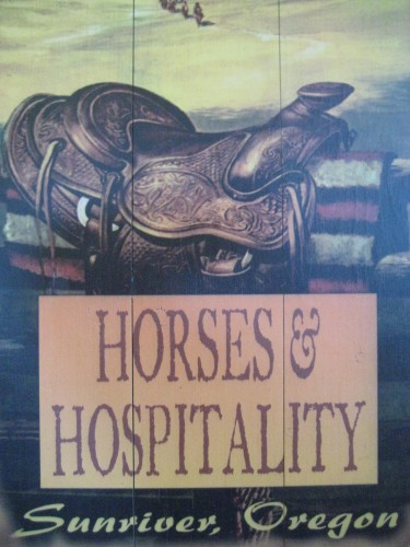 Horses & Hospitality go hand in hand on a horseback riding vacation at Sunriver Stables