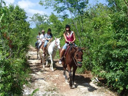 Horseback riding vacation at Hacienda Andalucia, Riviera Maya, Mexico