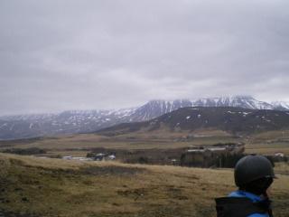 A horseback riding in Reykjavik, Iceland