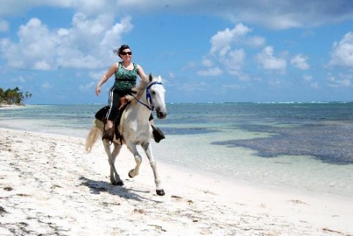 Horseback Riding Vacation on the Beach at Punta Cana, Dominican Republic