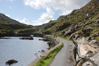 Take a horse cart ride through the Gap of Dunloe, Ireland