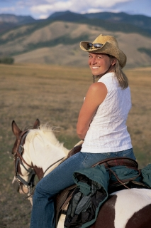 Join ALA Guide Callie on a Horseback Riding Vacation in Montana