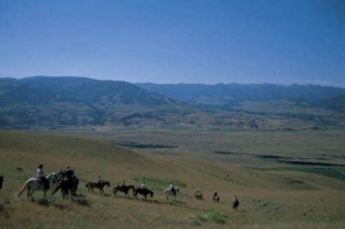Big Sky, Montana Horseback Riding Vacation