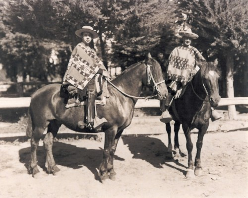 This is how Chilean horsemen traveled on horseback in the Colchagua Valley