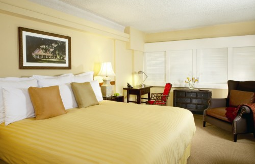 The Equus Polo Executive Room for your horseback riding vacation