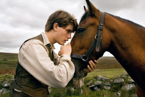 War Horse - not your usual horseback riding vacation. Photo courtesy of  Dreamworks via Empire online.