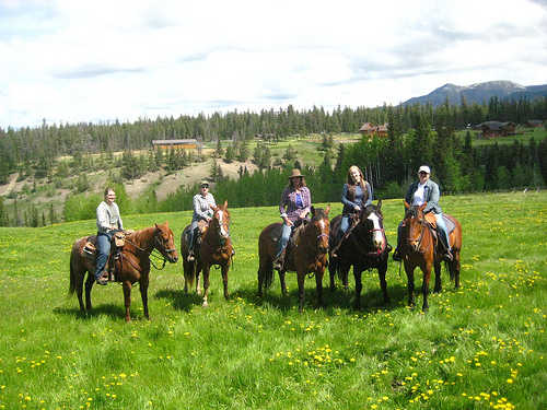 Girls Getaway Horseback Riding Vacation at Echo Valley Ranch