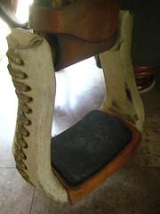 Western Orthoflex Saddle For Sale - Writing Horseback