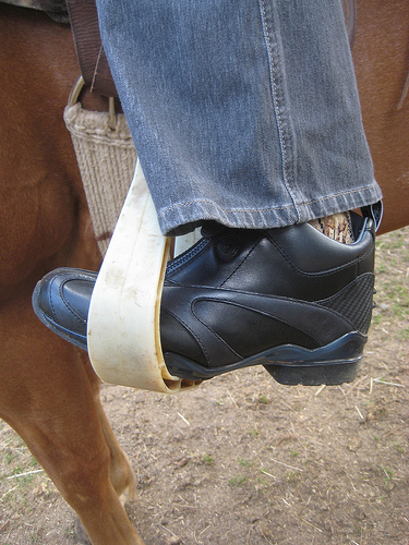 Ariat Volant Paddock Boot provides support during horseback riding vacation