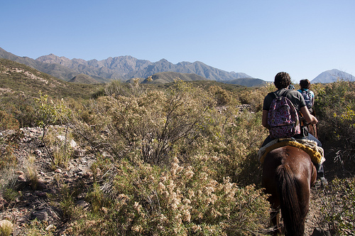 Horseback riding vacation in the Andes of Argentina