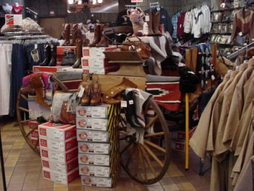 Cowboy up at the Loretta Lynn Western Store on your horseback riding vacation