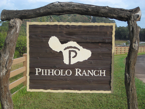 Enjoy a horseback riding vacation at Piiholo Ranch in Maui, Hawaii