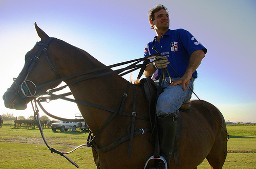 Fabio Lavinia of Capilla Polo Club invites you to Argentina for a horseback riding vacation to remember