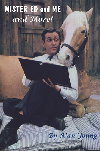 Alan Young goes on a horseback riding vacation with Mister Ed