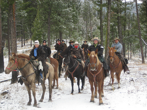 triple creek ranch, darby montana guest ranch, horseback riding, klicks for chicks