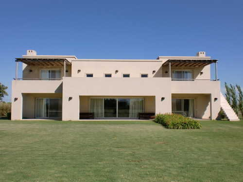 Stay in estancia-style house at Capilla Polo Club during horseback riding vacation