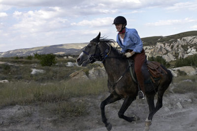 relief riders, cappadocia, turkey, marc lecureuil, horseback riding
