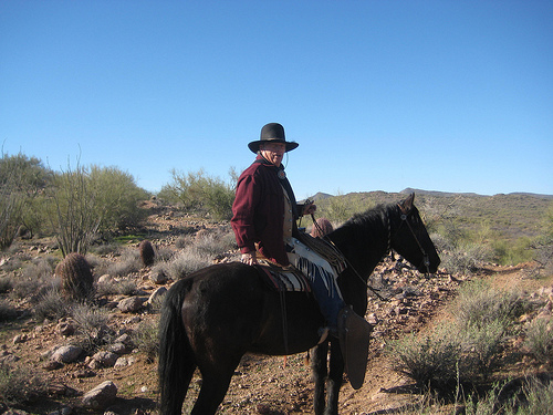 sonoran desert, horseback riding vacation, dick fredrickson