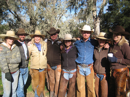These wranglers at Alisal Guest Ranch are waiting to take you on a horseback riding vacation in Solvang, California
