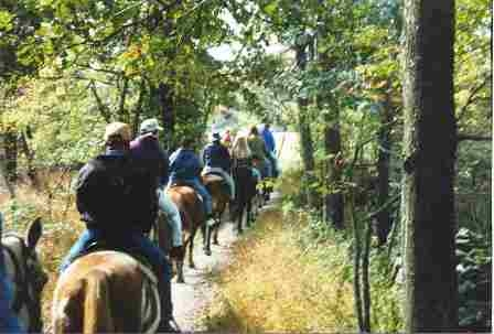 Artillery Ridge Campground is horse headquarters for a Gettysburg horseback riding vacation.