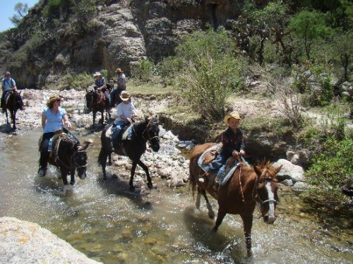 Go for a horseback riding vacation in San Miguel de Allende