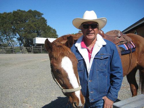 rafael hernandez, horse, wine country trail rides, chalk hill estate, healdsburg, california