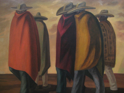 the cloaked ones, mexican workers, jose chavez morado, migrant worker, texas