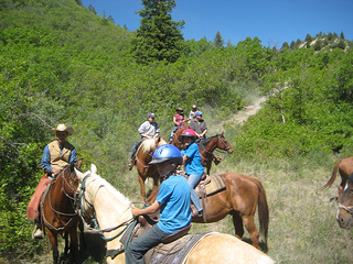 Come to The High Lonesome Dude Ranch for a horseback riding vacation