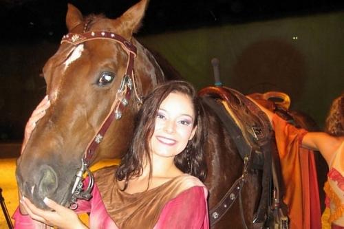 Cavalia, laura baubry, horse show