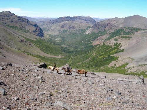 Argentina, Patagonia, horse trek