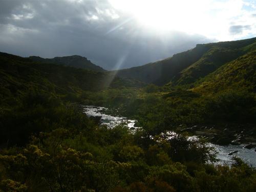Rio Trocoman river, Argentina, Patagonia