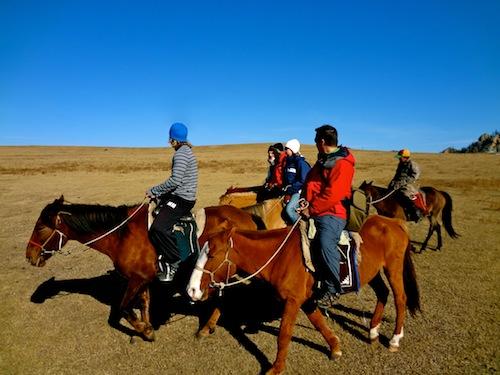 Horseback riding holiday in Mongolia