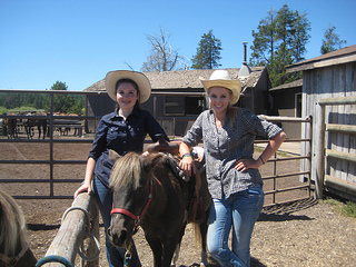 Sunriver Stables pony girls