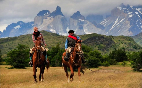 A horseback riding vacation in Patagonia, Chile