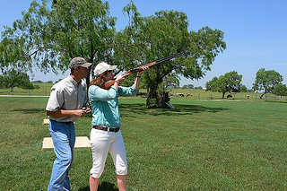 Heather Cowper takes aim at Picosa Ranch, Texas
