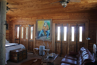 Porch House suite for your horseback riding vacation in Jasper, Georgia