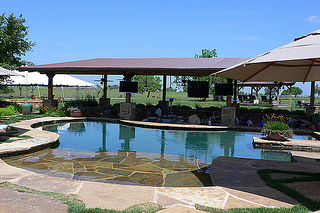 The Pool at South Lodge, Picosa Ranch, Texas
