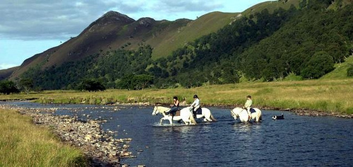 """Alladale Wilderness Lodge riding"""
