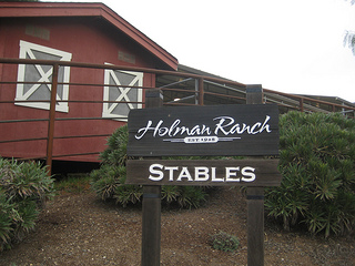 """Holman Ranch Stables"""