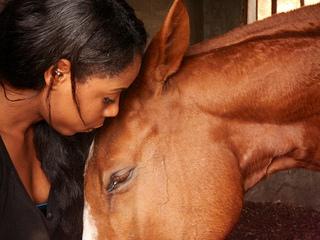 Neku Atawodi and horse