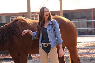 Templeton Thompson & horse