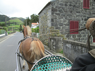 Sete Cidades, Seven Cities village