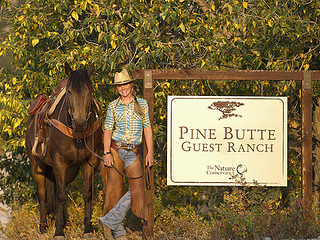 Pine Butte Ranch Nature Conservancy In Montana Writing