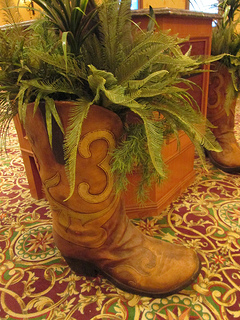 "cowboy boots ""South Point Hotel"""