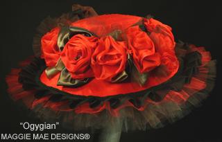 Ogygian hat, Maggie Mae Designs